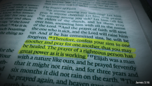 Prayer - James 5:16